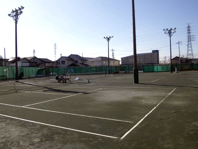 木曽川テニスコート