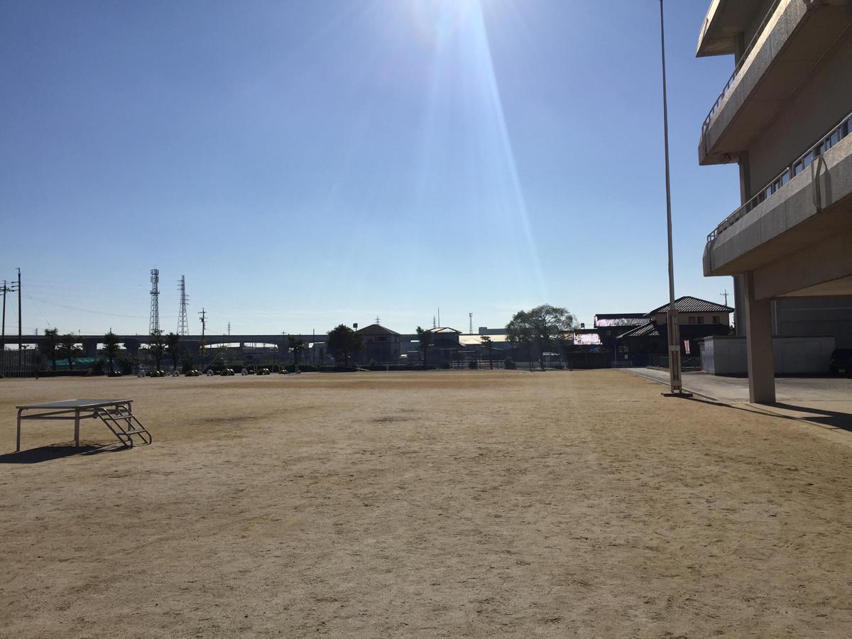 木曽川東小学校運動場(グラウンド)